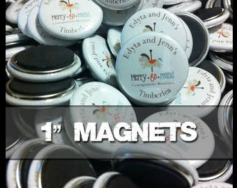 100 One Inch Diameter Magnets