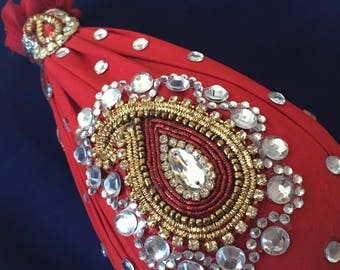 Bridal Red Naariyal