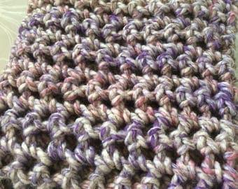 Handmade Chunky Crochet Blanket