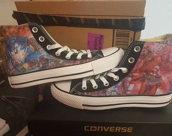 Guardians of the Galaxy Converse All Star Chucks Custom Made Marvel Comics  Trainers Sneakers