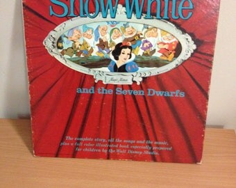 Snow White and Seven Dwarfs Walt Disney's 1962 the Complete Story, All the Songs and the Music
