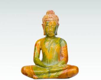 MEDITATING BUDDHA - SOAPSTONE