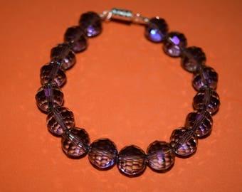 Purple shiny bracelet