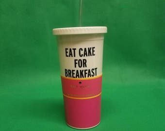 Kate Spade New York Eat Cake For Breakfast 16 oz. Insulated Tumbler