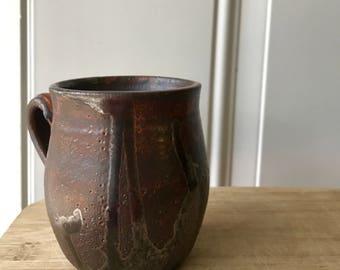 Rustic Copper Mug