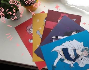 Puella Magi Madoka Magica - Print Set of 5