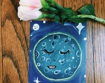 an ode of peace - postcard
