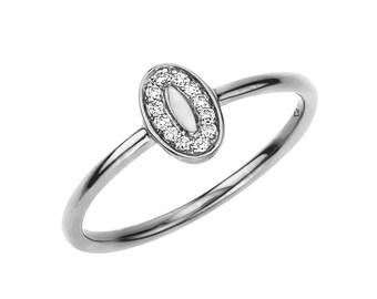 Sterling Silver Poppy Ring