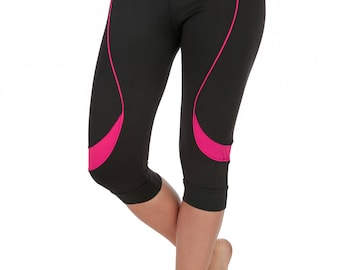 Verscos Women's Stretch Capris Cropped Tight Leggings 5137