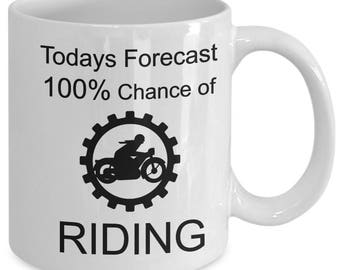 Motorcycle Riding Coffee Mug