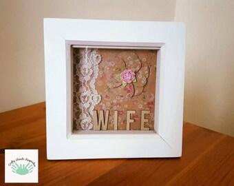 Wife Keepsake, Gift