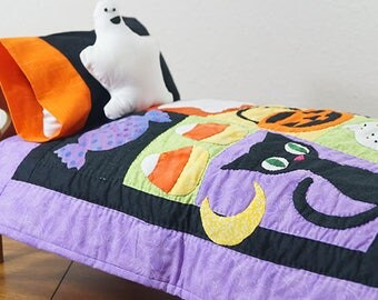 Trick or Treat Doll Quilt Pattern