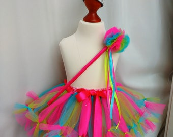 cake smash set outfit tutu tulle skirt  hat wand 1st birthday photo session prop party