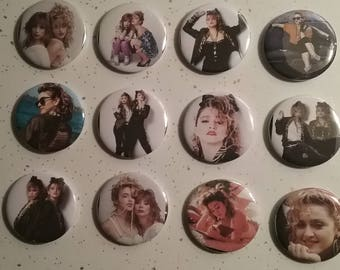 Madonna Desperately Seeking Susan 12 Pinback Button Collection