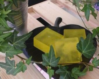 Lemon sls free handmade soap