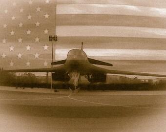 B-1B Lancer PostCard