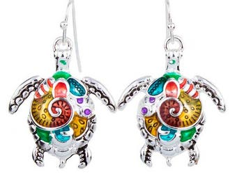 Turtle Magic Earrings