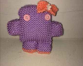 Fae the Mini Knitted Monster