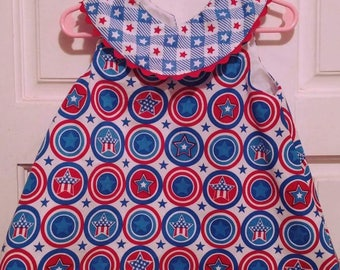 4th of July A-line dress