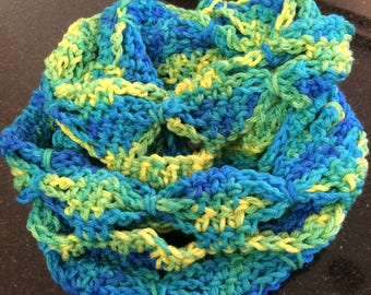 Child's Butterfly Infinity scarf