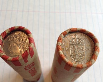 Rare Unsearched 1700s-1900s Coin Rolls