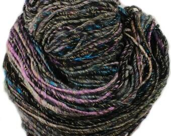 Strange Moon -- handspun art yarn (100 yards - 4.2 oz.)