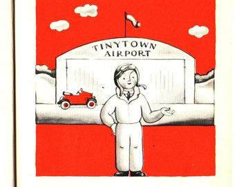 The Little Airplane - Lois Lenski - 1959 - Vintage Kids Book