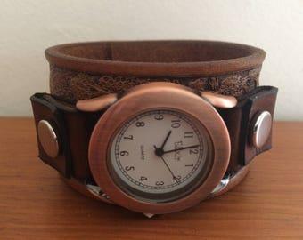 Gone fishing watch cuff