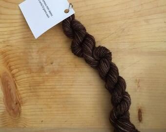 Stumptown - eponymous sock yarn, fingering weight yarn mini skein