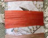 Hand dyed silk ribbon asst