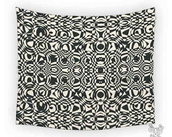 Wall Tapestries, Tapestry Wall Hanging, black and white tapestry, Tapestry, Tapestries, Bohemian tapestries, Wall Tapestry hanging, funky
