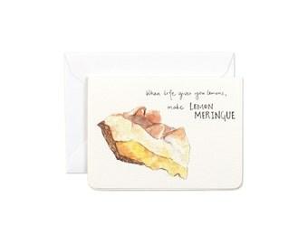 Make Lemon Meringue Mini Card