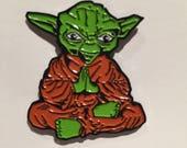 Yoda Buddha Soft Enamel Pin