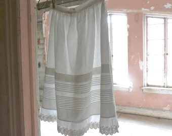 Victorian Girl's Skirt Slip Size 6/7