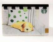 Starbucks HOLIDAY giftcard Notebook