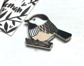 Chickadee Enamel Pin