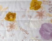 Japanese Fabric Nani Iro Fuccra quilted double gauze - Plitvice - 50cm