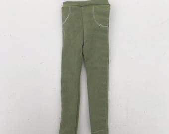 doll jeans green