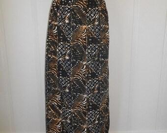 SALE Vintage 90s skirt boho bohemian hippie hippy gypsy   long maxi            rayon
