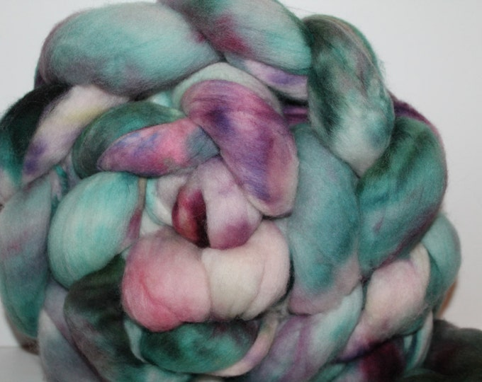 Kette Dyed Polwarth wool top. Roving. Spin. Felt. Super Soft. 1lb. FREE SHIP #P14