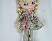 Blythe Doll Dress,  Blythe Dress. Long Sleeves, Toile Girls