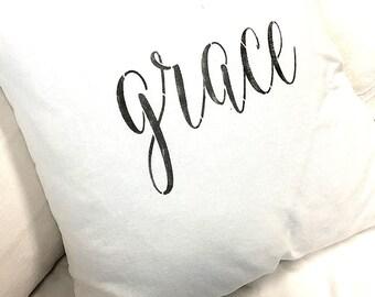 NEW! Made to Order White Linen Cotton Blend Slip Cover Grace Design