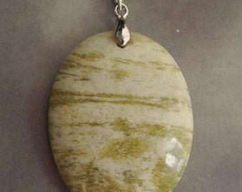 Lemon Jade Pendant