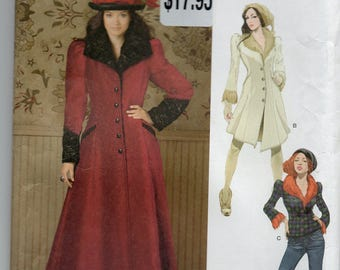 Simplicity 1732 Misses Coat And Jacket In Two Lengths Size 14-16-18-20-22 Uncut Pattern Copyright 2012