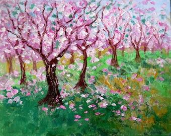 Cherry Tree Grove  - photo print - 8 x 10 - BUY 2 get 1 FREE