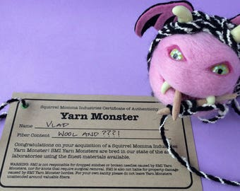 Vlad the Yarn Monster