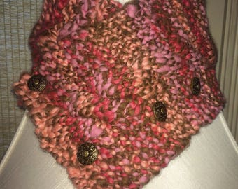 Chunky Cable Braid Cowl Pattern