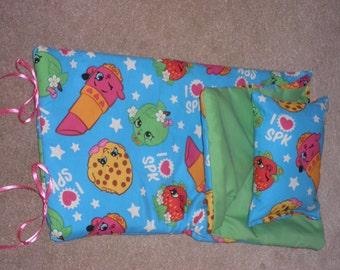 Handmade Sleeping Bag I Love SPK fits 18 inch Doll Like American Girl