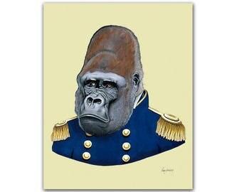 Gorilla print 8x10