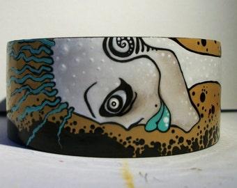SALE, New Wave Corpse ZombieHead Bracelet